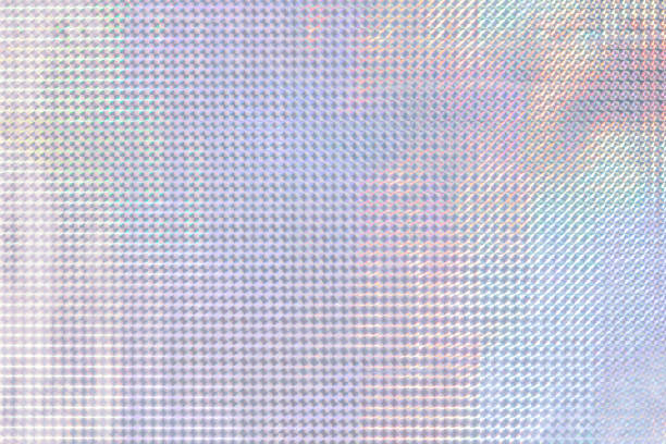 abstract holographic multicolored pastel magic rainbow festive background shining with a different shade. - hologram stock photos and pictures