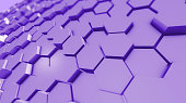 Abstract Honeycomb Pattern Backgrounds Purple