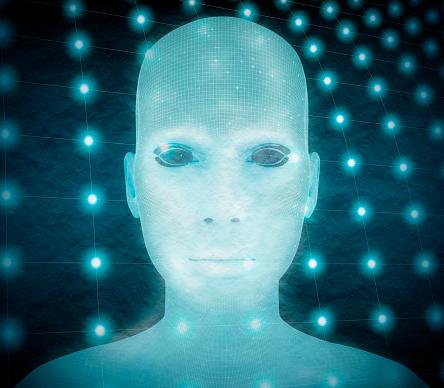 istock Abstract human portrait 917659576