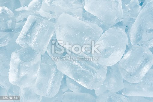 istock Abstract Ice cubes texture background 670761512