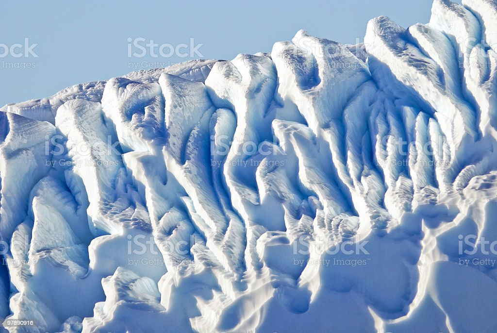 Abstract Ice Formation royalty-free stock photo