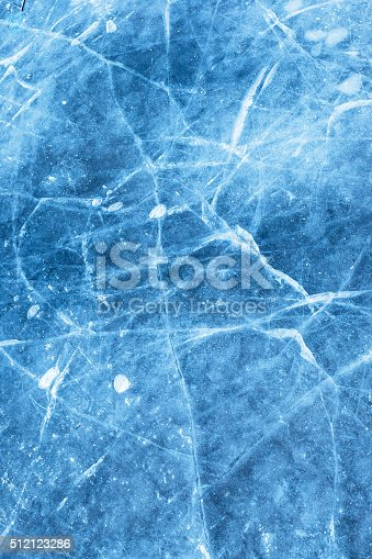 istock Abstract ice texture with air bubble 512123286