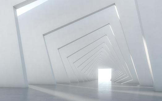 Abstract illuminated