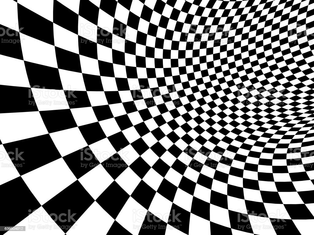 Abstract illusion stock photo
