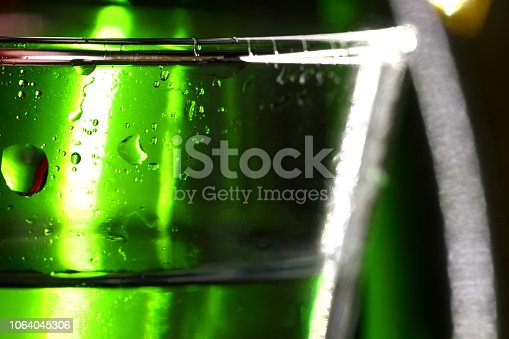 872334598 istock photo Abstract image of glass bottles 1064045306