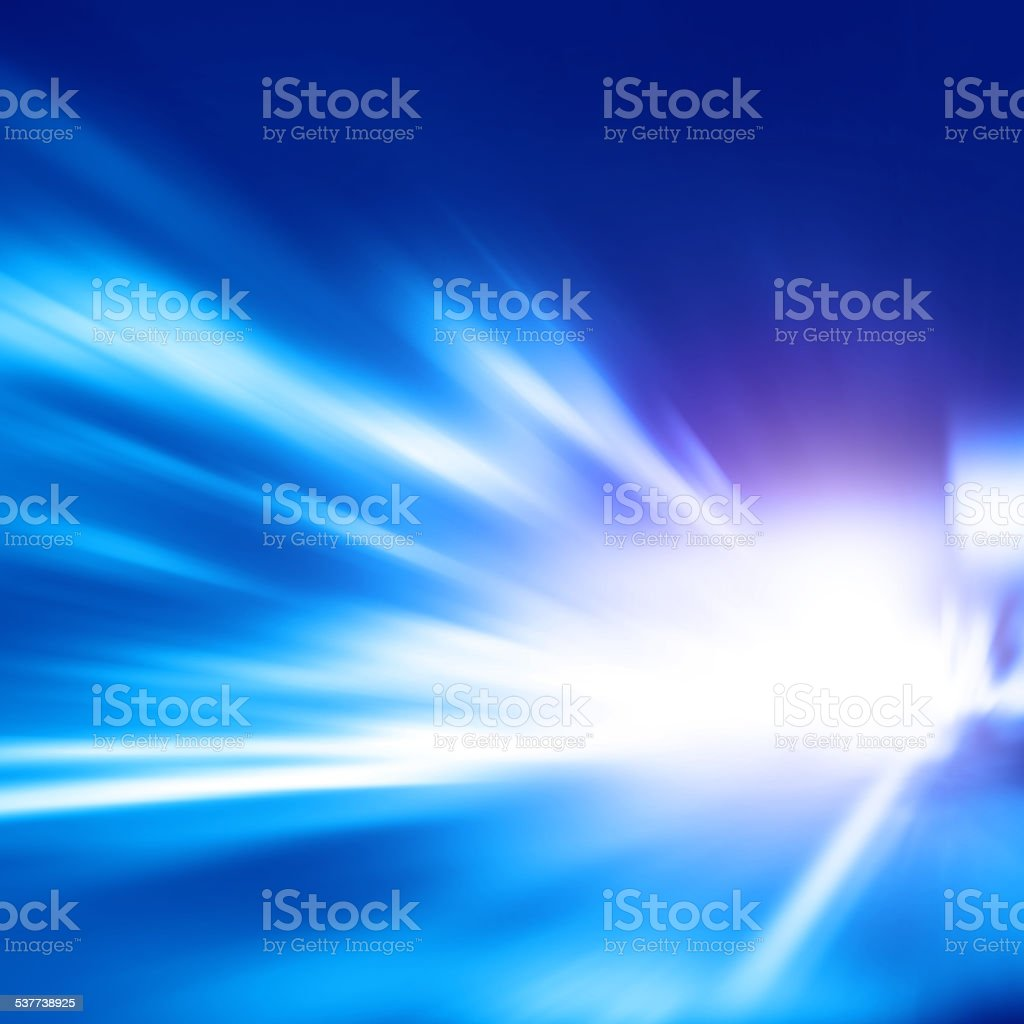 Abstract image of high speed on the road. stock photo