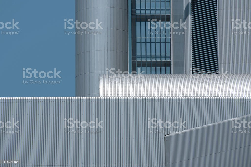 Abstract Industrial Architecture royalty-free stock photo