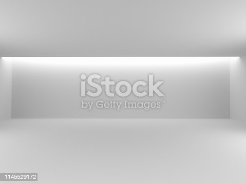 692146256 istock photo Abstract interior design of modern 1145529172