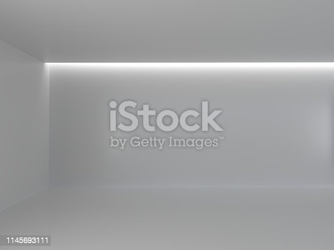istock Abstract interior design of modern 1145693111