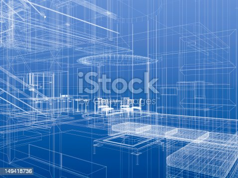 istock Abstract interior 149418736