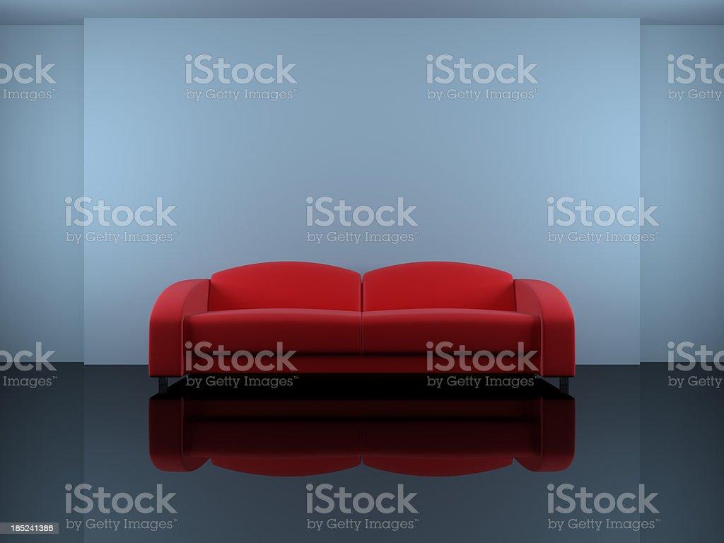 Abstract Interior royalty-free stock photo