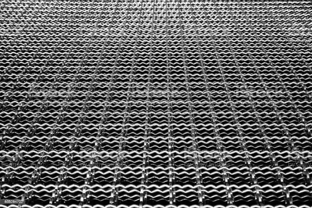 abstract iron mesh stock photo
