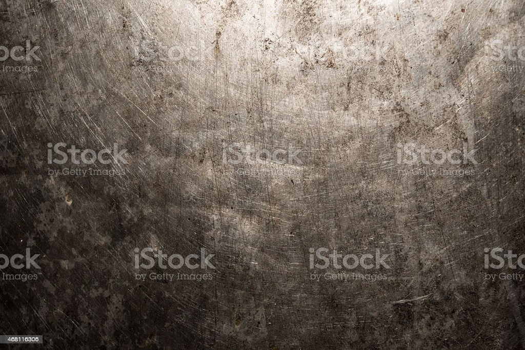 Abstract iron rusty artistic wall peeling paint stock photo