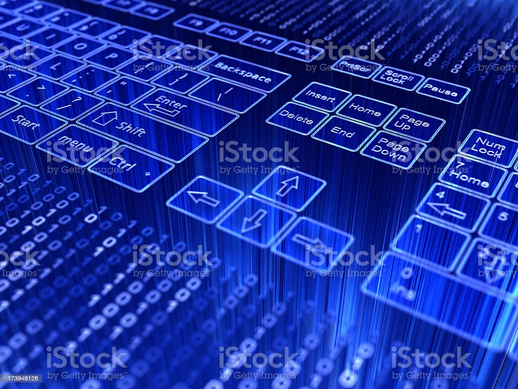 abstract keyboard royalty-free stock photo