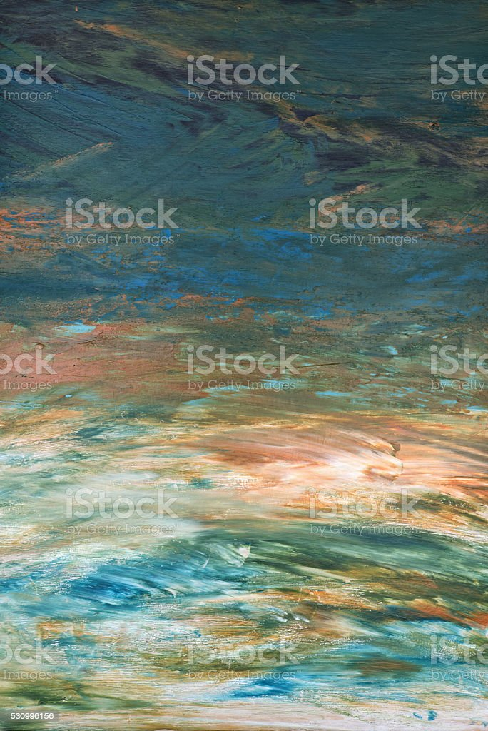 Abstract Landscape stock photo