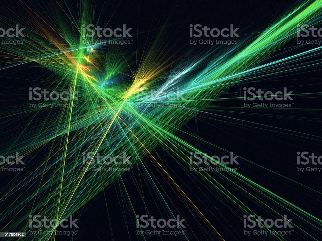 Abstract laser lights stock photo