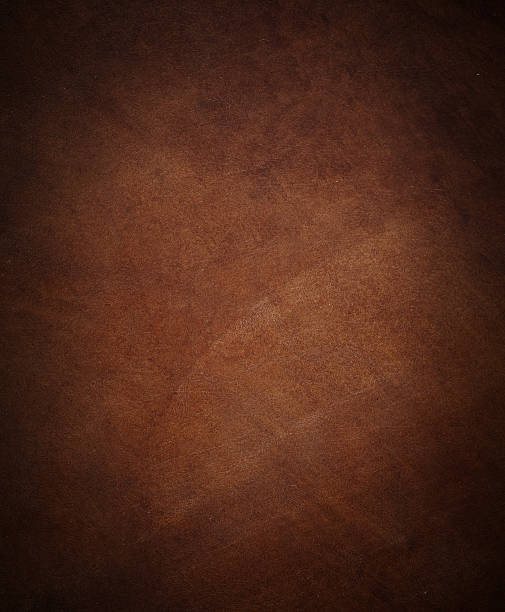 abstract leather texture. simple brown leather texture. perfect for background. brown stock pictures, royalty-free photos & images