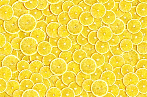 Abstract Lemon Slices - zdjęcia stockowe i więcej obrazów Bibelot