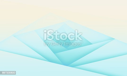 508945010 istock photo Abstract light blue background with polygons 897335800