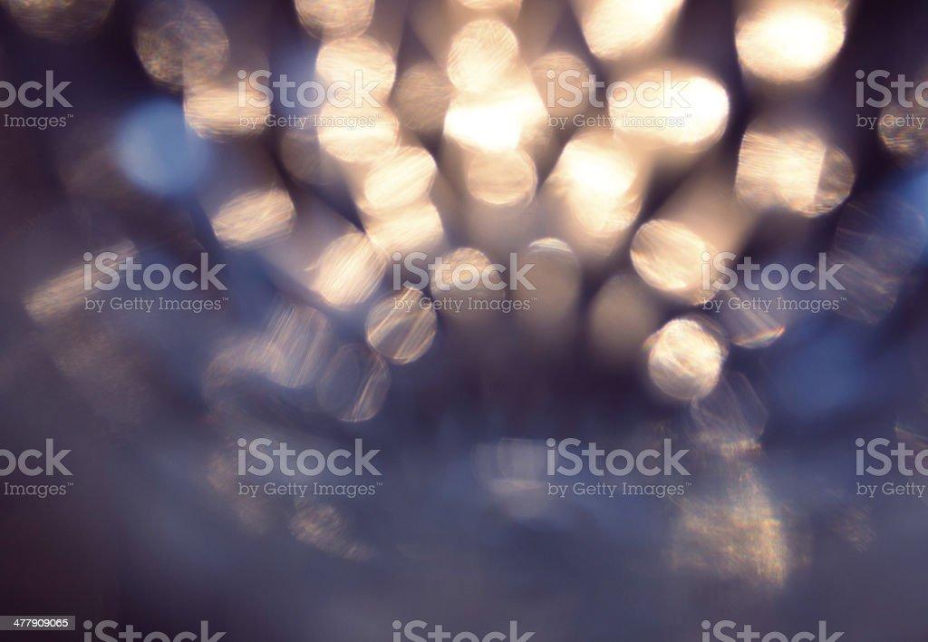 Abstract light bulbs stock photo