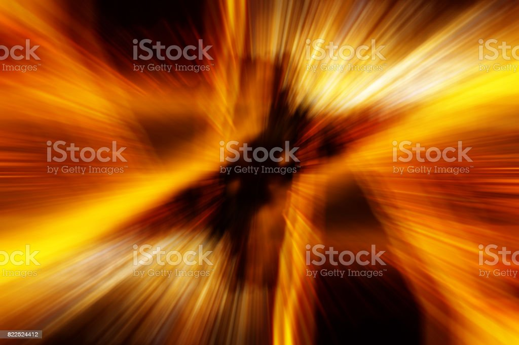 High speed technology concept, road light abstract background