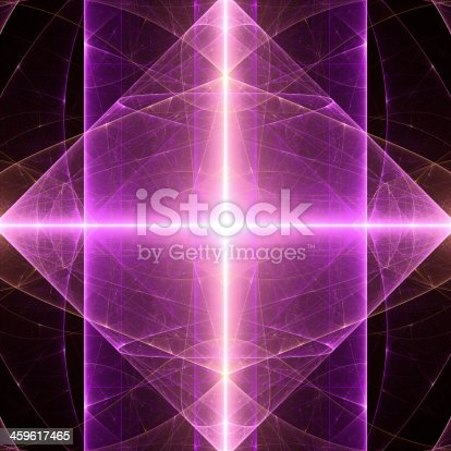 istock Abstract light fractal background 459617465