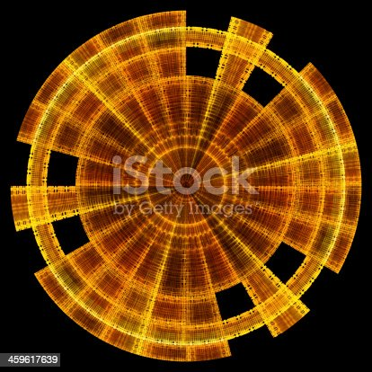 istock Abstract light fractal background 459617639