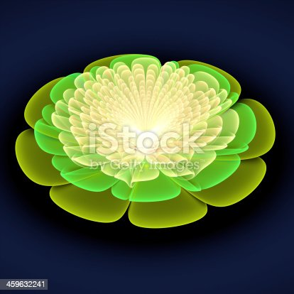 istock Abstract light fractal background 459632241