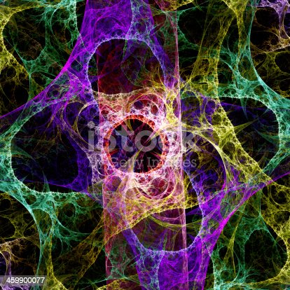 istock Abstract light fractal background 459900077
