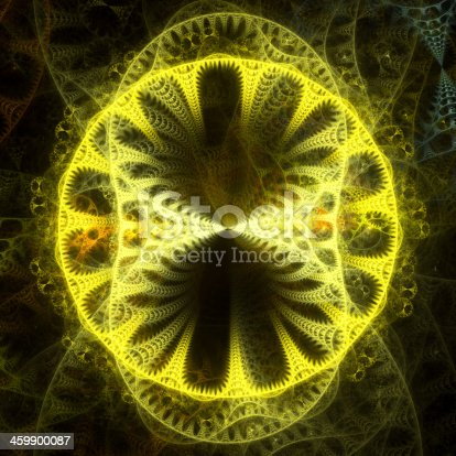 istock Abstract light fractal background 459900087
