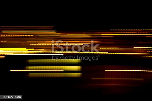 Abstract light lines . Abstract glowing golden lines