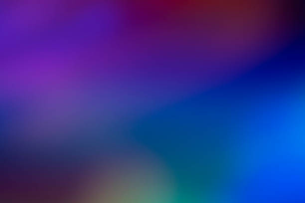 lumière abstraite - fond multicolore photos et images de collection