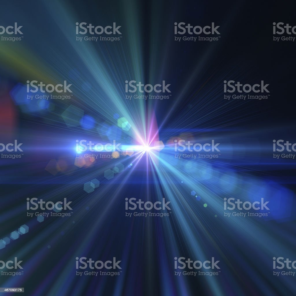 Abstract Light stock photo