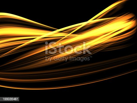 istock Abstract Light Ribbon Background 155035461