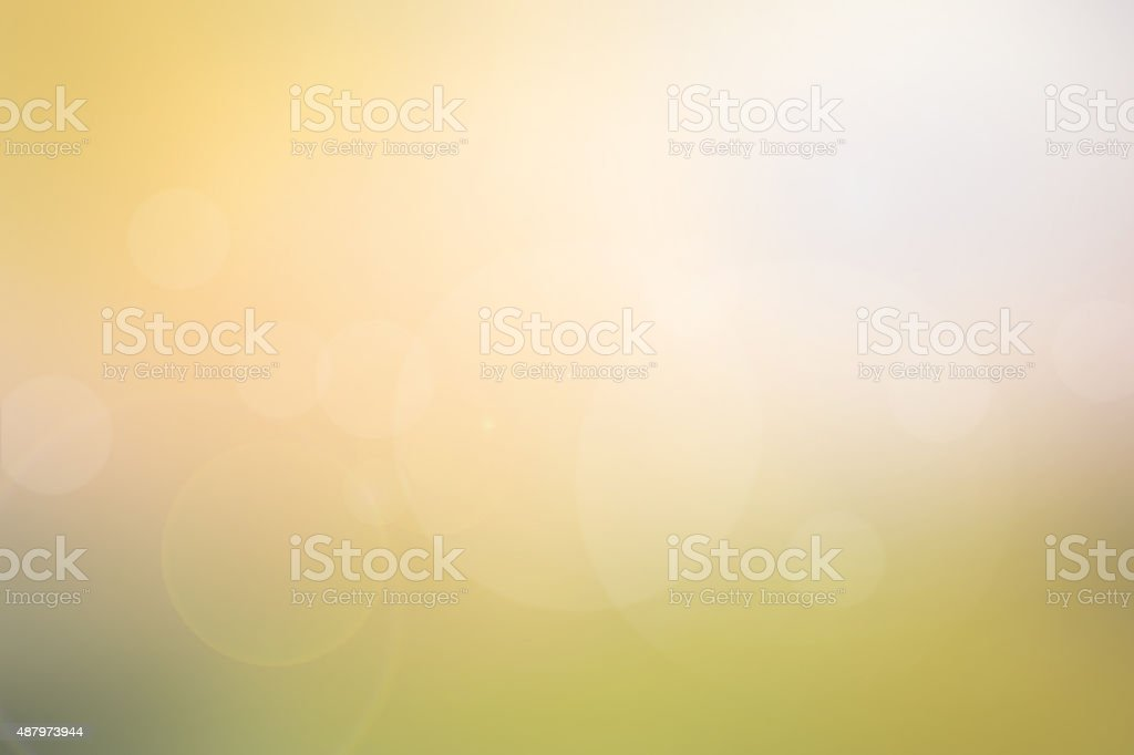 Abstract light yellow-green blurred background stock photo