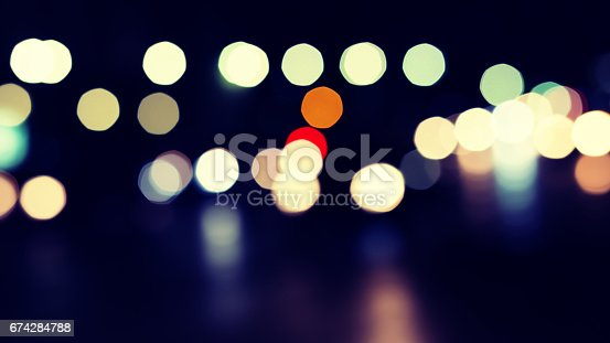 istock Abstract Lighting bokeh background 674284788