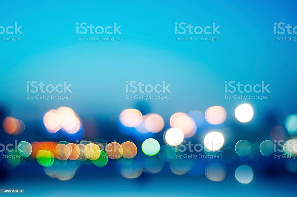 Abstract lights background design stock photo