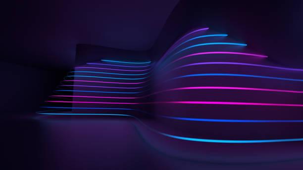 抽象燈 - 霓虹燈 個照片及圖片檔