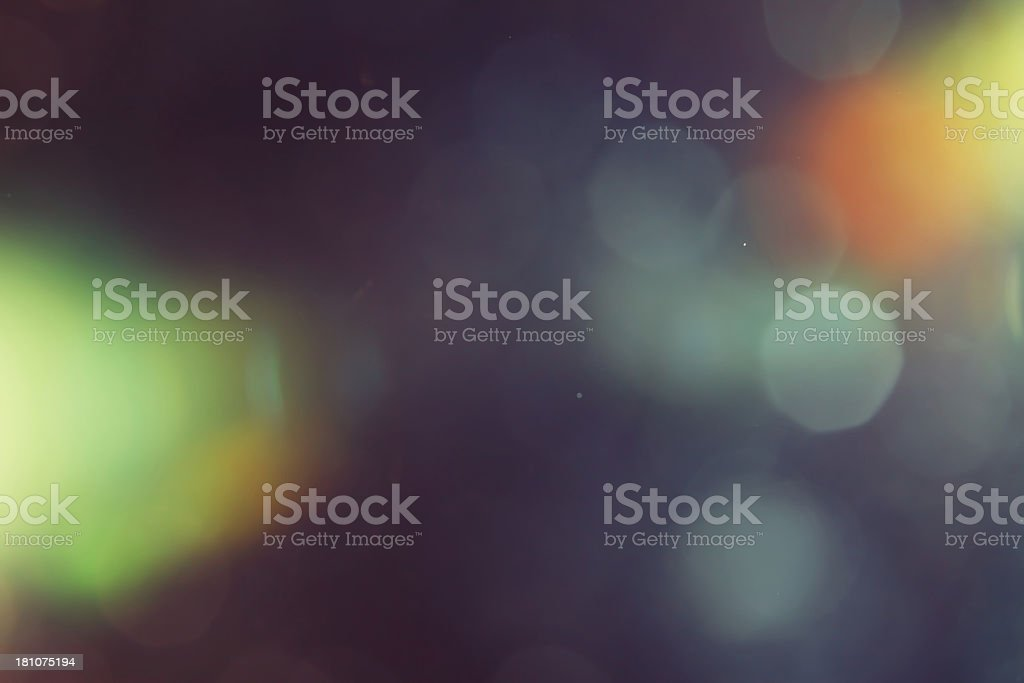 Abstract lights stock photo