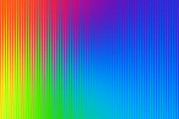 abstract line pattern background rainbow spectrum - 光譜 個照片及圖片檔