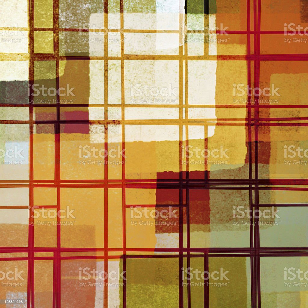abstract lines and paint squares pattern royalty-free stock photo