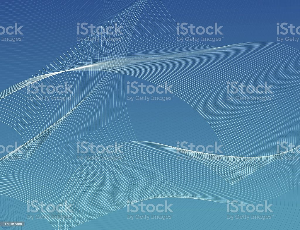 abstract lines : blue stock photo