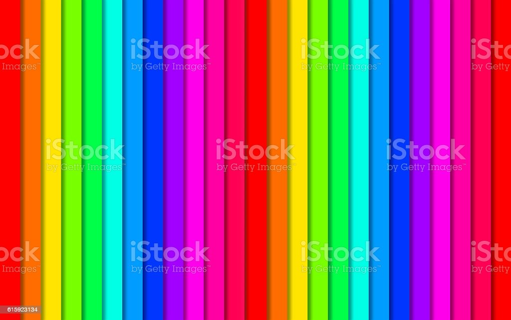 Abstract Lines Design On Color Background stock photo