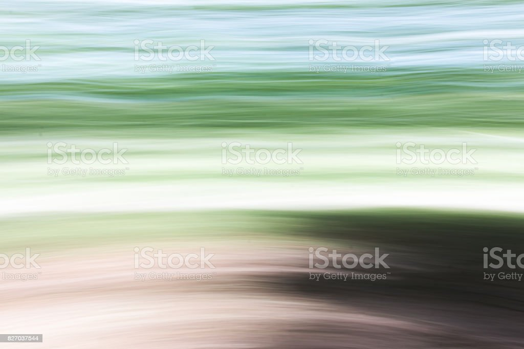 Abstract Long Exposure stock photo