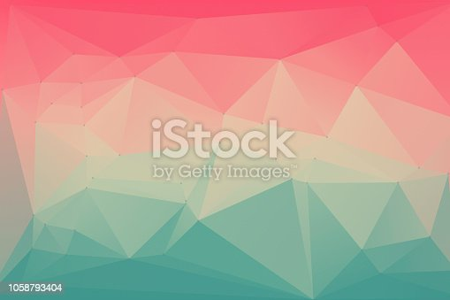 Abstract Low Poly Background in Pink, Yellow and Teal Abstract Low Poly Background in Pink, Yellow and Teal  - Wallpaper - Origami