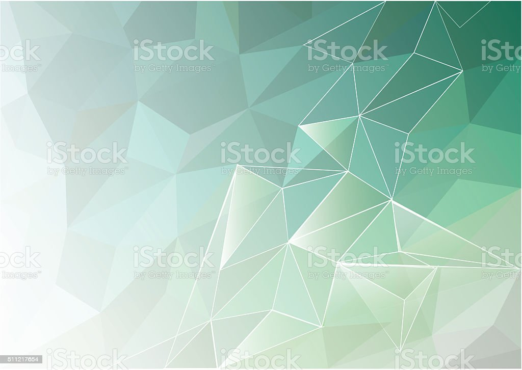 abstract low poly background polygon design. triangles and lines stock photo