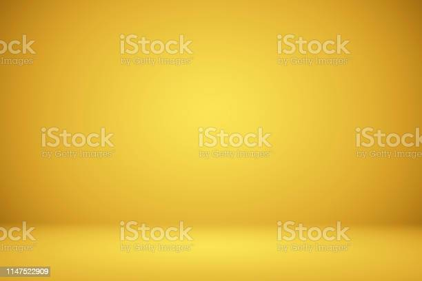Photo of Abstract Luxury Gold Studio well use as background,layout and presentation