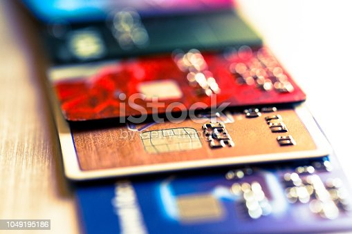 istock Abstract macro credit card background 1049195186