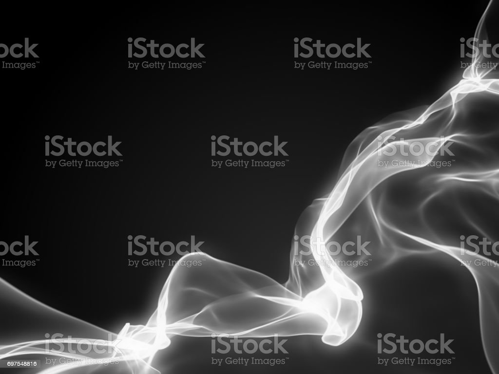 Abstract magic light black and white background stock photo
