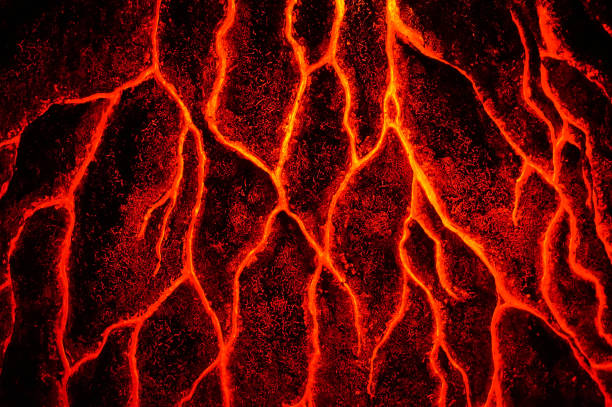 abstract magma texture abstract magma texture lava stock pictures, royalty-free photos & images